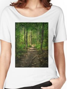 The Hidden Trails of the Old Forests Women's Relaxed Fit T-Shirt