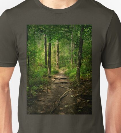 The Hidden Trails of the Old Forests Unisex T-Shirt