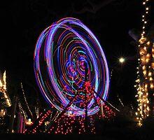Xmas Ferris Wheel by Walt Conklin