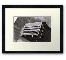 Roof Ting Framed Print