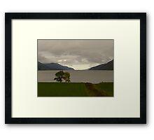 Tip of Loch Ness Framed Print
