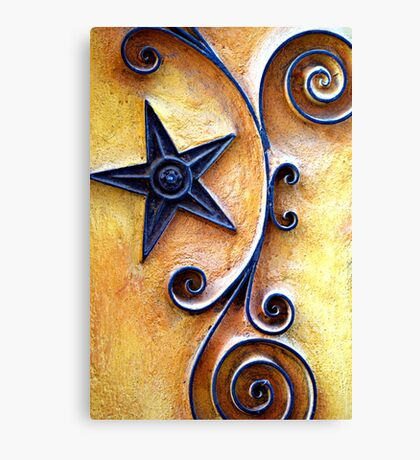 Celestial Spirals Canvas Print