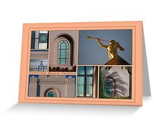 Newport Collage Greeting Card