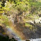 Rainbow In The Falls by Vicki Spindler (VHS Photography)