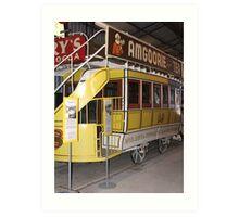 TrolleyCar 18 Art Print