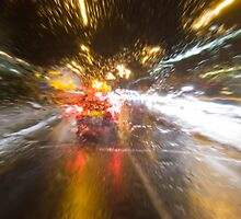 Driving Rain by Nigel Bangert