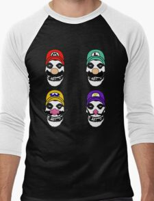 N. Misfit 4 (a) Men's Baseball ¾ T-Shirt