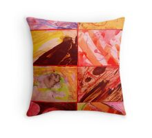 Abstract Expression 2. Throw Pillow