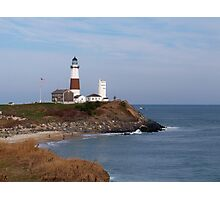 Montauk Point Lighthouse Photographic Print