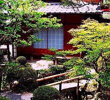 A Garden in Kyoto (III), Japan 2009 by Igor Pozdnyakov