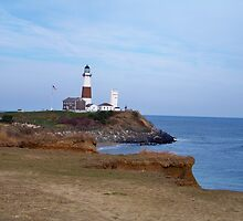 Montauk Point Lighthouse by Dandelion Dilluvio