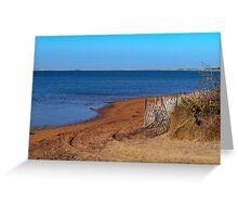 Napeague Bay Greeting Card