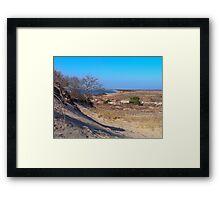 Montauk Walking Dunes Framed Print