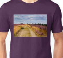 Walking on Rievaulx Moor Unisex T-Shirt