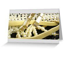 Beautiful pearls, Greeting Card
