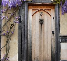 Lavenham Doorway by Carol Dawes