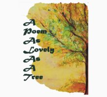 A Poem As Lovely As A Tree by Helena Bebirian