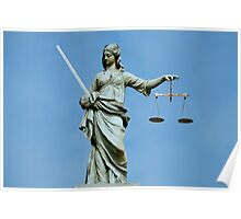 Lady Justice Dublin Poster