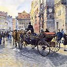 Prague Old Town Hall and Astronomical Clock by Yuriy Shevchuk