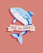 SAVE THE SHARKS by exoplanetinc