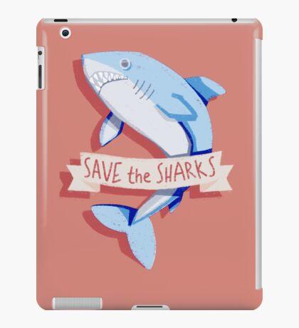 SAVE THE SHARKS iPad Case/Skin
