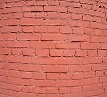 A fragment of a brick wall painted by vladromensky