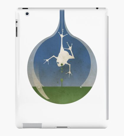 ingress : frog tears (no text) iPad Case/Skin