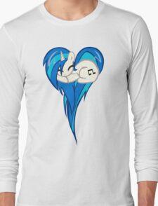 Vinyl Scratch DJ Pon3 Heart Long Sleeve T-Shirt