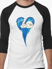 Vinyl Scratch DJ Pon3 Heart Men's Baseball ¾ T-Shirt