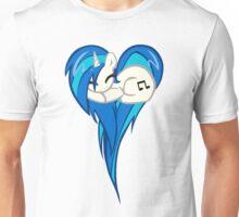 Vinyl Scratch DJ Pon3 Heart Unisex T-Shirt