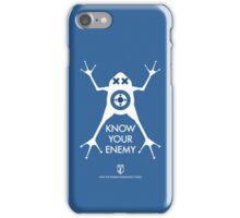 ingress : know your enemy iPhone Case/Skin