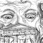 The Temple. A Sketch. 2003 by Igor Pozdnyakov