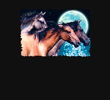"""Mustang Moon"" Spanish Horses Unisex T-Shirt"