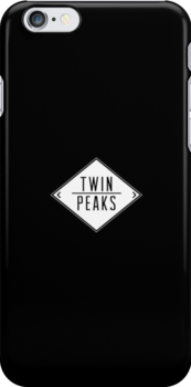 Welcome To Twin Peaks (Black) by Andrew Lawandus