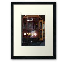 Tram 360 Framed Print