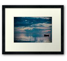 Morning Calm Framed Print