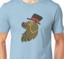 Gentleman Bear Bust Unisex T-Shirt
