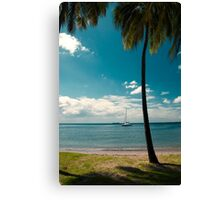 Tropical Landscape Canvas Print