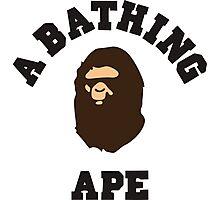 bathing ape Photographic Print