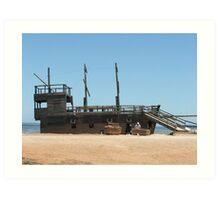 Pirate Ship 3 Art Print
