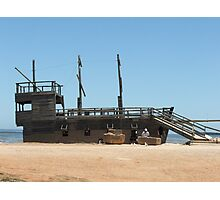 Pirate Ship 3 Photographic Print