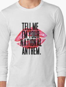 National Anthem Lips Long Sleeve T-Shirt