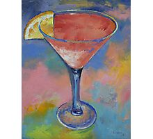 Marilyn Monroe Martini Photographic Print