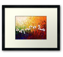 The Daisy Dance Framed Print