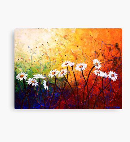 The Daisy Dance Canvas Print