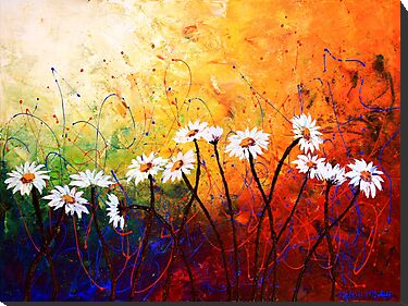 The Daisy Dance by Abstract D'Oyley
