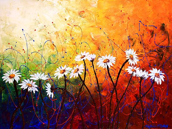 The Daisy Dance by Abstract D'Oyley