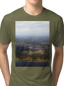 a desolate Sri Lanka landscape Tri-blend T-Shirt