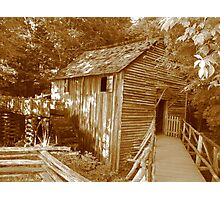 old grain mill Photographic Print