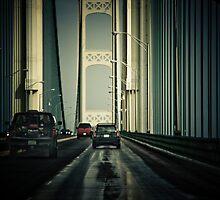 Mackinac Bridge II by Kathy Nairn